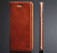 Ultra Slim Hard Leather Folio Flip Cover Case for iPhone 6 (Assorted Colors)