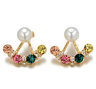 Alloy Earring Stud Earrings Party / Daily 2pcs,XD512-34