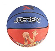JOEREX 7# Rubber Basketball Blue/Red Blue/Yellow Indoor & Outdoor Basketball