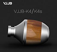 VJJB K4 Premium Genuine Wood In-ear Noise-isolating Headphones|Earbuds|Earphones
