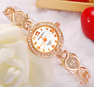 Ladies' Watch Korean Fashion Digital Diamond Beautiful Rose Gold Bracelet Watches