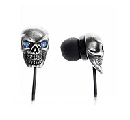 New Super Bass Headphone 3.5mm In Ear Secure Fit Metallic  with 3.5mm Earbuds for Samsung S4/S5