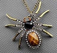 Designer Jewelry  Spider Pendant Necklace