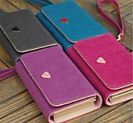 Teléfono Móvil Samsung - Bolsas - Color Sólido - para SamsungS4 I9500/Galaxy Note 3/S5 i9600/Galaxy Note 4/Galaxy Note Edge/Galaxia
