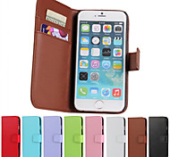 PU Wallet Luxury Leather Case With Screen Protector for iPhone 6/6S
