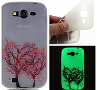 Love Tree Luminous Dream Catcher Pattern Sofe TPU Case for Samsung Galaxy I9060/G530/G360/J3/J1 ACE/ON5/ON7
