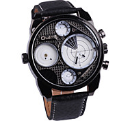Fire Two Time Zone /Sports And Leisure Quartz Men'S Watch