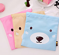 Travel Bag Fabric 19.5 x 17.5 x 1CM