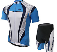 XINTOWN Ultraviolet Resistant Breathable Cycling Bike Short Sleeve Sports Clothing Bicycle Suit Jersey+Shorts