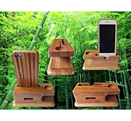 Bamboo Mobile Phones/ Apple Watches Multifunction Holder