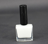 White Peel Off Liquid Nail Art Tape Latex Tape Palisade For Easy Clean Base Gel Coat of The Nail Can Tear Skin Cream