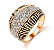Женский Классические кольца бижутерия Циркон Бижутерия Назначение Свадьба Для вечеринок Повседневные