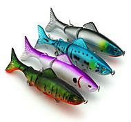 """4pcs pcs Harte Fischköder Zufällige Farben 17.7g g/5/8 Unze,125mm mm/4-3/4"""" Zoll,Kunststoff Spinnfischen"""