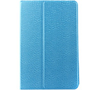 Ultra-thin Solid Color PU Leather 360 Rotation Case for iPad Mini 4
