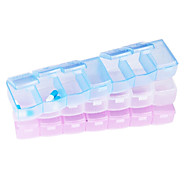 "Travel Pill Box/CaseForTravel Accessories for Emergency Plastic 7.1""*1.57""*1""(18cm*4cm*2.5cm)"