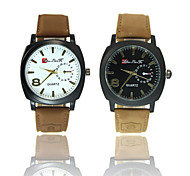 Fashion Quartz Watch Men Watches Military Watches Men Corium Leather Strap wristwatch relogio masculino Wrist Watch Cool Watch Unique Watch