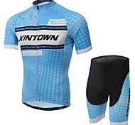 XINTOWN Ultraviolet Resistant Cycling Bike Short Sleeve Clothing Bicycle Suit Jersey + Shorts