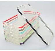 двойной цвет TPC + PC Back чехол для iphone6&6s (ассорти цветов)