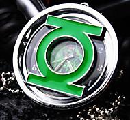 Unissex Relógio de Bolso Quartz Lega Banda Colar com Relógio Prata
