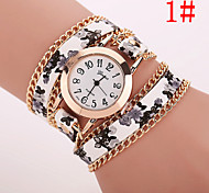 Xu™ Women's Fashion Printed Bracelet Quartz Watch Cool Watches Unique Watches