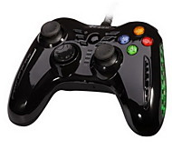 PXN®-8606 Dual Shock Rechargeable Wired Game Controller for PC / /Ps3