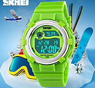 Kid's Candy Color LCD Digital Rubber Sports Watch