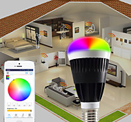 Smart Phone  App Control Bluetooth LED RGB And Warm White bulb