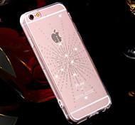 starlight TPU de conception de modèle de couverture de strass pour iPhone 6 Plus iphone 6s, plus