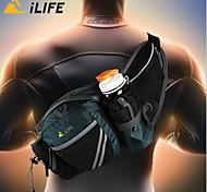 20 L Bolsa de hombro Acampada y Senderismo Al Aire Libre Impermeable / Listo para vestir Negro Nilón bag