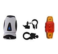 Luzes de Bicicleta , kits de luz frontal + cauda de luz - 6 Modo 200LM Lumens Fácil de transportar AAA x 4 Bateria Ciclismo/Moto Others