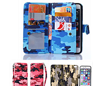 Leather Phone Wallet Bag Case Flip Cover +Back Cover 2 in 1 Detachable Case For iPhone 5/5S