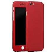Назначение iPhone X iPhone 8 iPhone 6 iPhone 6 Plus Чехлы панели Защита от удара Чехол Кейс для Сплошной цвет Твердый PC для iPhone X