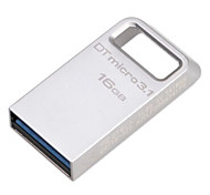 Kingston DTMC3 16GB USB 3.1 Flash Drive Metal Ultra-Compact