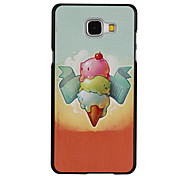 Ice Cream Pattern PC Material Hard Case for Samsung Galaxy A3 10(2016)/A5 10(2016)/A7 10(2016)