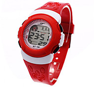 Children Kids Sports Stop Electronic Wrist Watch Night Lights Alarm Clock