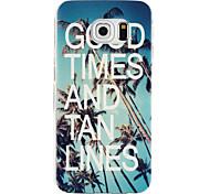 bom tempo padrão TPU material de telefone para Samsung Galaxy S6 edge / S6