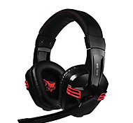 salar kx236 cancellazione del rumore stereo surround gaming headset hi-fi audio con microfono e controllo del volume per il pc
