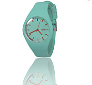Geneva 2016 new ultra-thin watches candy color silicone Table GENEVA Women's wrist watch Cool Watches Unique Watches