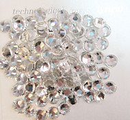 1440pcs/pack White Colors DIY Crystal Glass Designs Nail Art Rhinestones 3d Decoration Diamond NC238