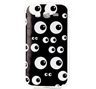 Black eye Pattern TPU Soft Case for Galaxy Grand Neo/Galaxy Grand Prime/Galaxy J1/Galaxy J5