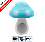 Besteye® USB2.0 Speaker Mushroom Notebook Computer Speaker 3D Stereo Surround Sound USB Plug and Play Speakers