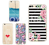 MAYCARI®To Regain Soft Transparent TPU Back Case for iPhone 6/iphone 6S(Assorted Colors)