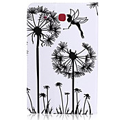 Dandelion Pattern PU Leather Material Tablet Sleeve for Samsung Galaxy Tab E 9.6 (T560)
