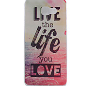 Life Pattern TPU Soft Phone Case for Samsung Galaxy A3 10(2016)/A5 10(2016)/A7 10(2016)
