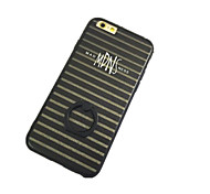 Stripe Pattern with Hand Ring Back Case for iPhone 6