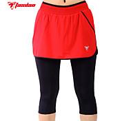 TASDAN Cycling Clothing 3/4 Tights/Short Skirts Men's Coolmax Material Cycling 3/4 Shorts