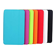 Folding Leather Case Toothpick Grain Fashion PU Tablet Computer Protection Shell for Samsung TAB E8.0 Assorted Colors