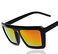 Sunglasses Unisex's Elegant / Retro/Vintage / Fashion Square Black Sunglasses / Sports Full-Rim