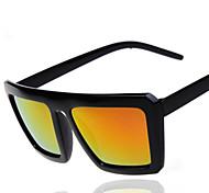 Gafas de Sol Unisex's Elegant / Retro/Vintage / Moda Cuadrado Negro Gafas de Sol / Deportes Completo llanta