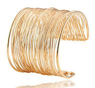 Woman Minimalist Personality Temperament Metal Bracelet
